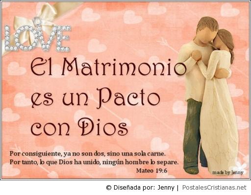 Frases Para Un Aniversario De Bodas: El Matrimonio Es Un Pacto Con Dios